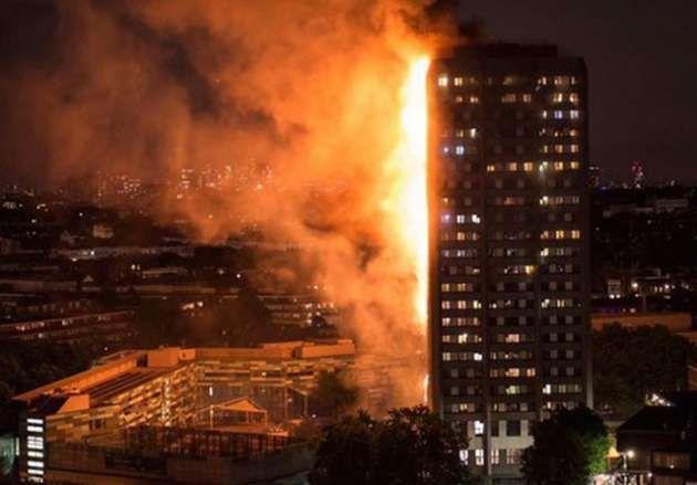Reportan incendio en edificio de Londres | nayaritenlinea.mx
