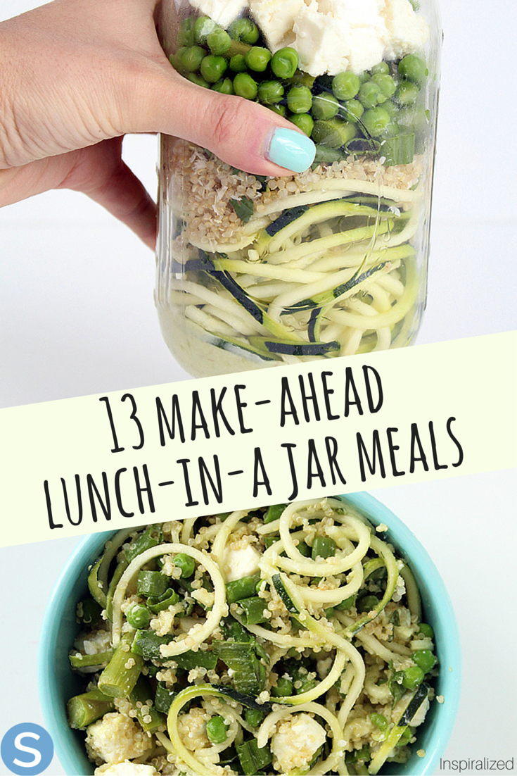 Make-Ahead (And Ridiculously Good) Lunch-In-A-Jar Lunches That Aren't Salad