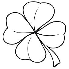 Resultado De Imagen Para Flores Y Hojas Para Colorear Leaf Coloring Page Coloring Pages Clover Leaf