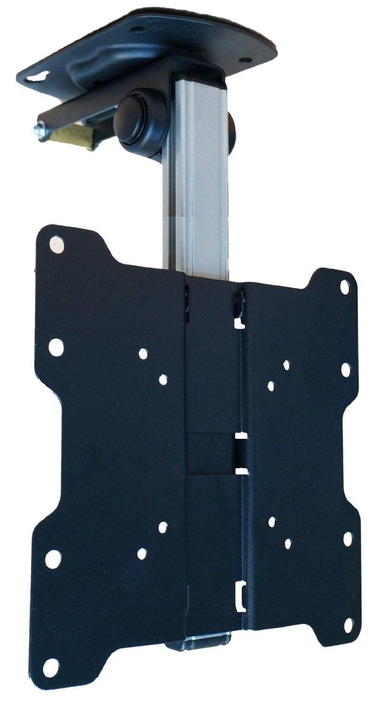 Tilt Swivel Folding Under Cabinet and Ceiling LCD LED TV Mount for ...