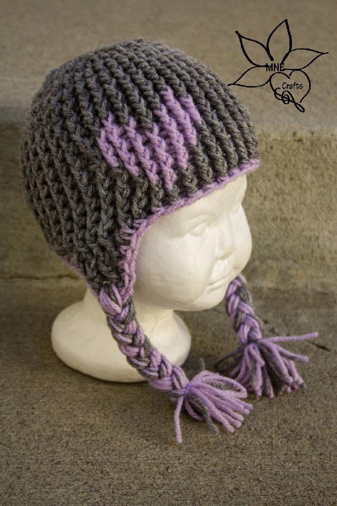 Full of Love Earflap Beanie Crochet pattern by Amanda ...
