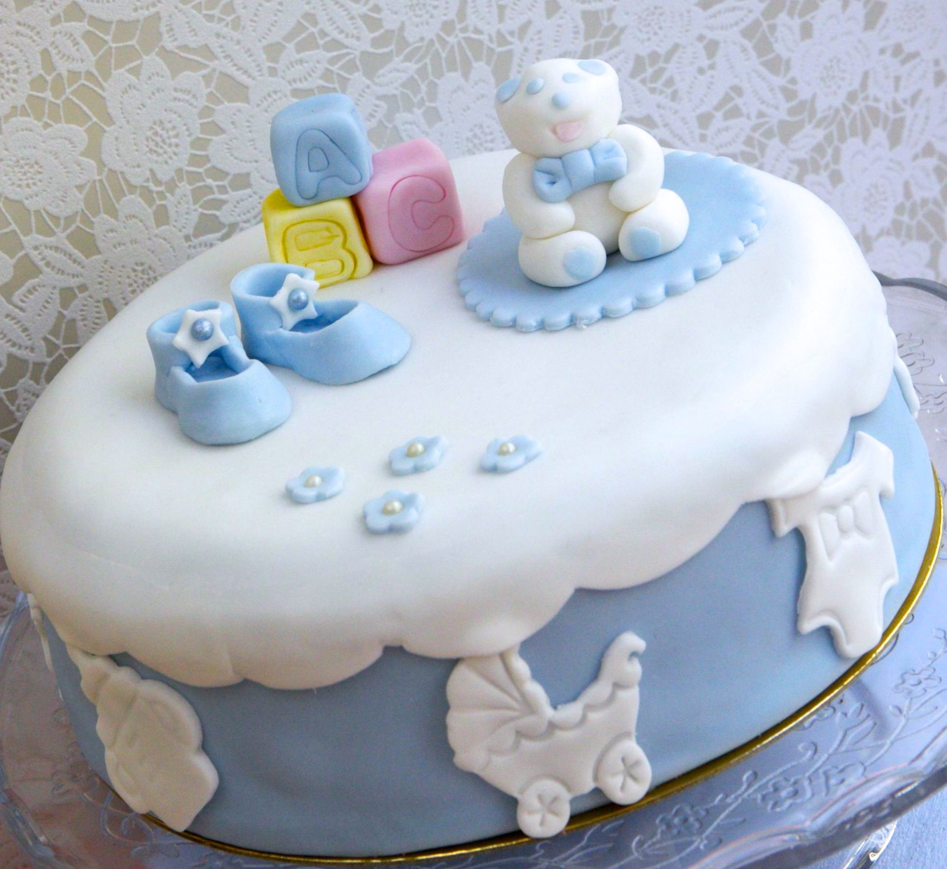 G teau baby shower g teau naissance fille gar on b b baby g teaux pers - Deco baby shower garcon ...