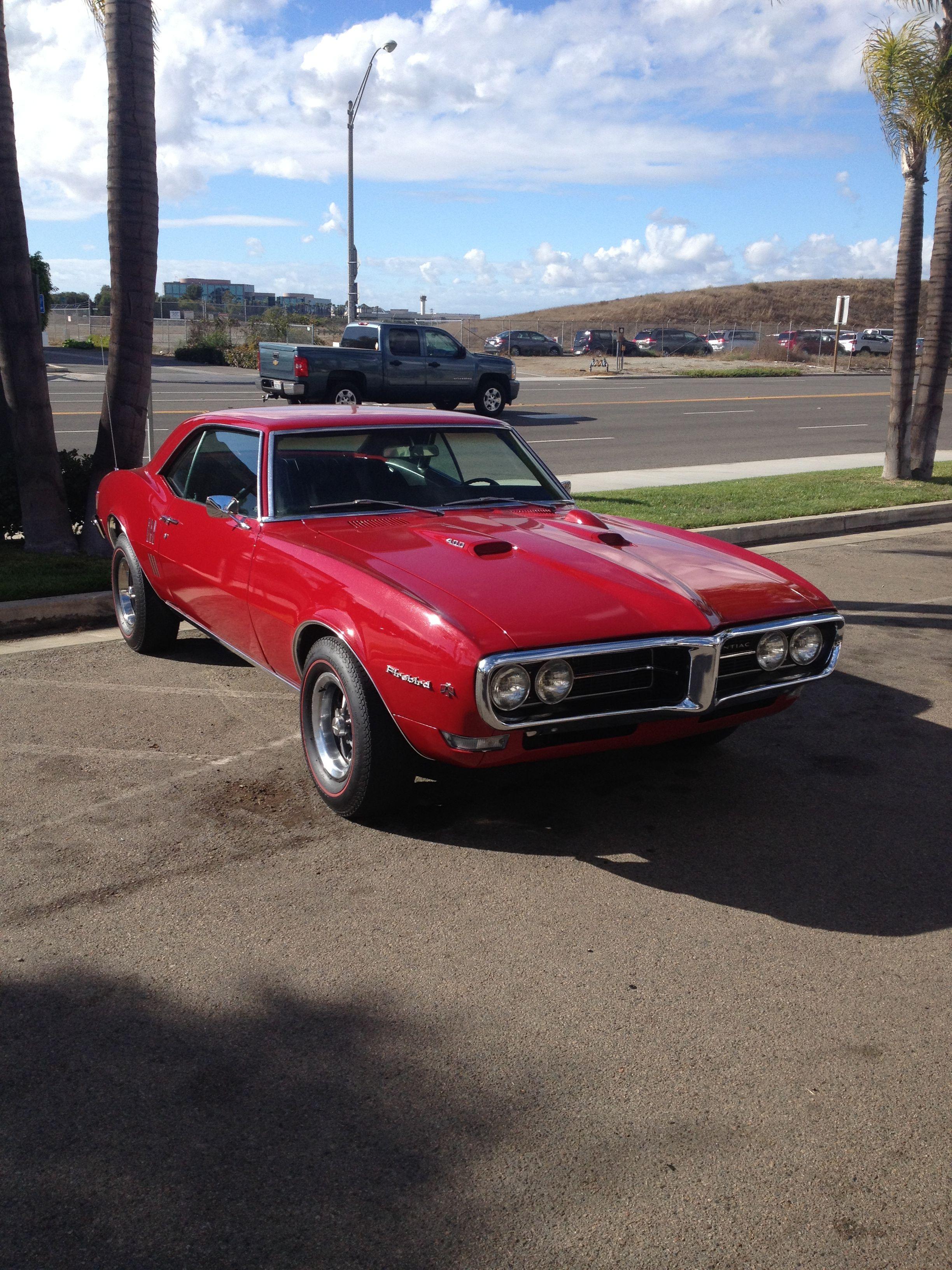 One of our customers 1968 Pontiac Firebirds. Pontiac
