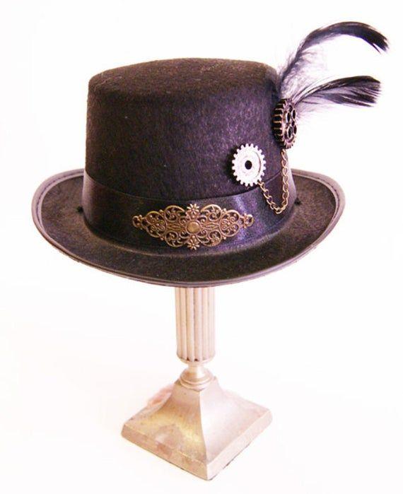Elegant tophat for Victorian Ladies