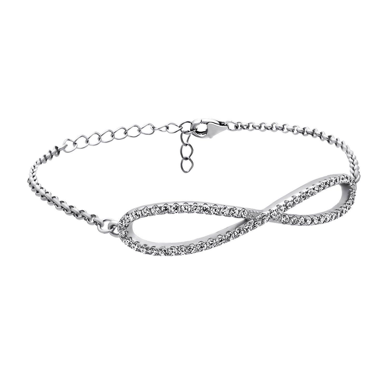 message ani style and caymancode infinity bangle flower bracelets alex bracelet