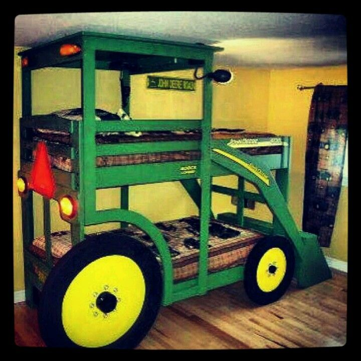 Tractor Bed-such A Cute Idea.