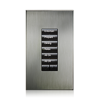 Lutron Homeworks Qs Architectural Seetouch Keypad Overview Lutron Pendant Sconce Roller Shades