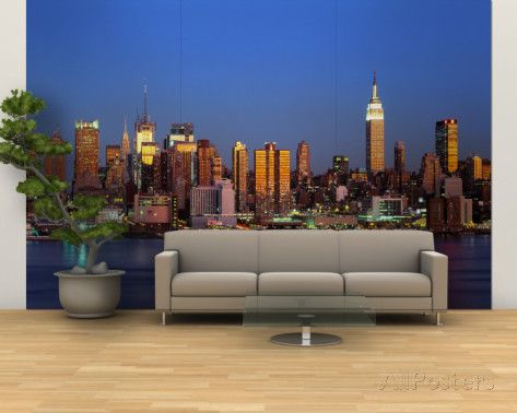 NYC New York City New York State USA Wall murals Wall mural