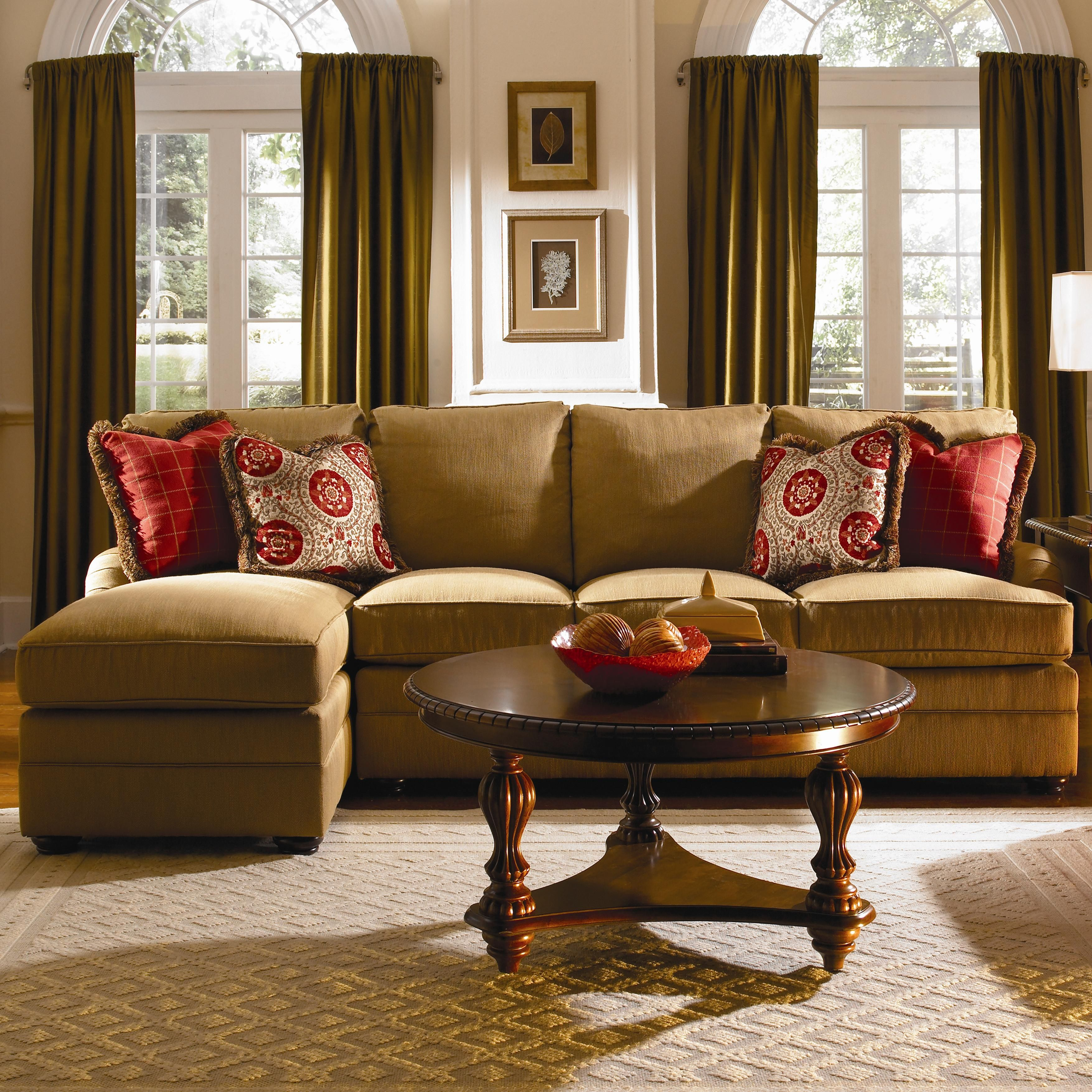 Custom Select Upholstery Custom 2 Piece Sectional Sofa by Kincaid