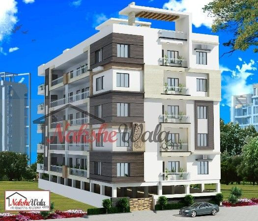 multi storey residential buildings 3d front elevation design multi storey residential buildings 3d front elevation 370