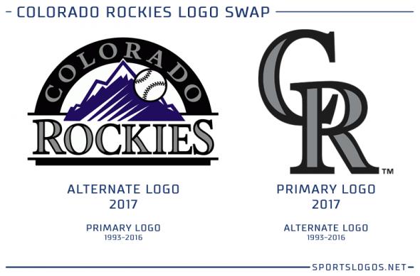 Colorado Rockies New Logo 2017 Colorado Rockies Colorado Rocky