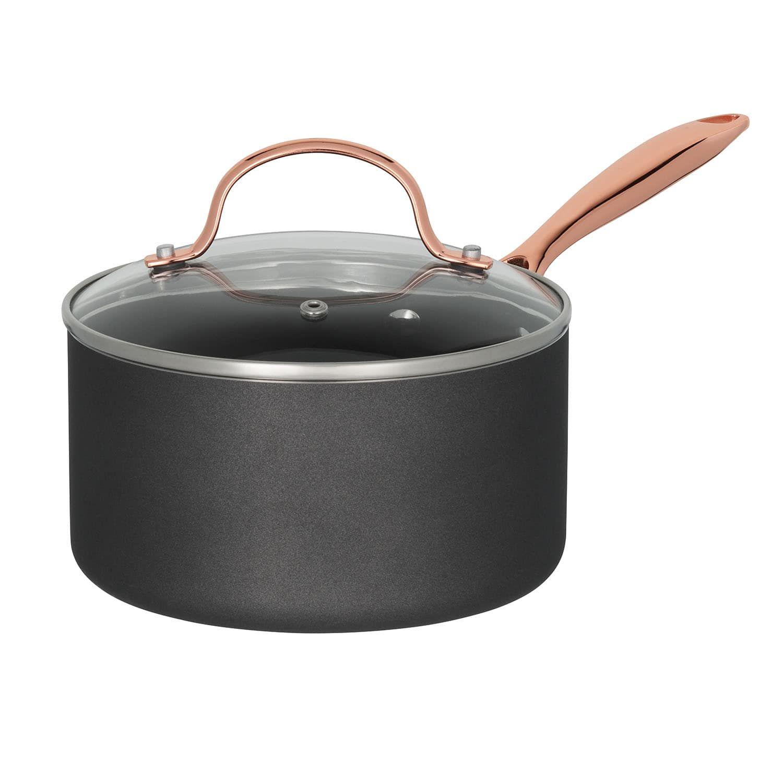 Food Network 10 Pc Nonstick Black Matte Ceramic Cookware Set Pc Nonstick Food Network Ceramic Cookware Set Ceramic Cookware Cookware Set