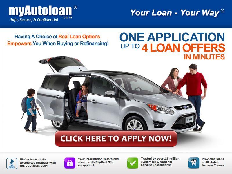 Financing as easy as 123 myAutoloan