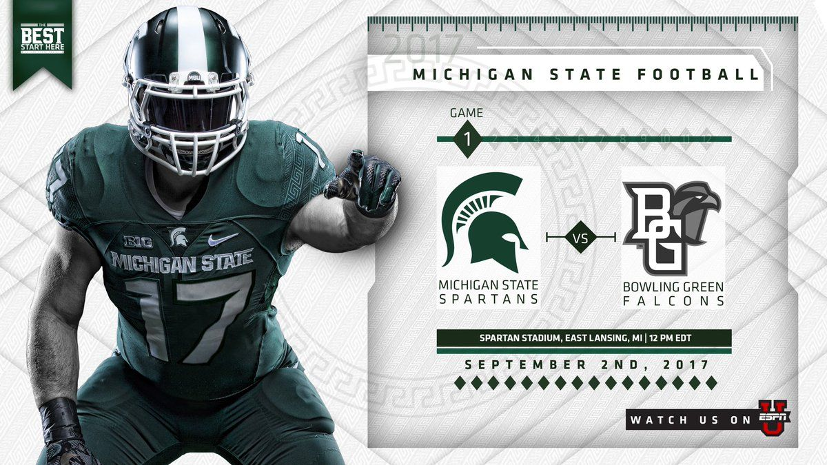 Michigan State (With images) Michigan state football