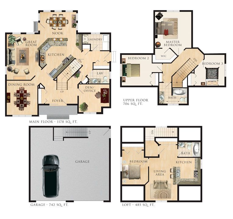Beaver Homes And Cottages Somerset House Plans Floor Plans Beautiful Architecture