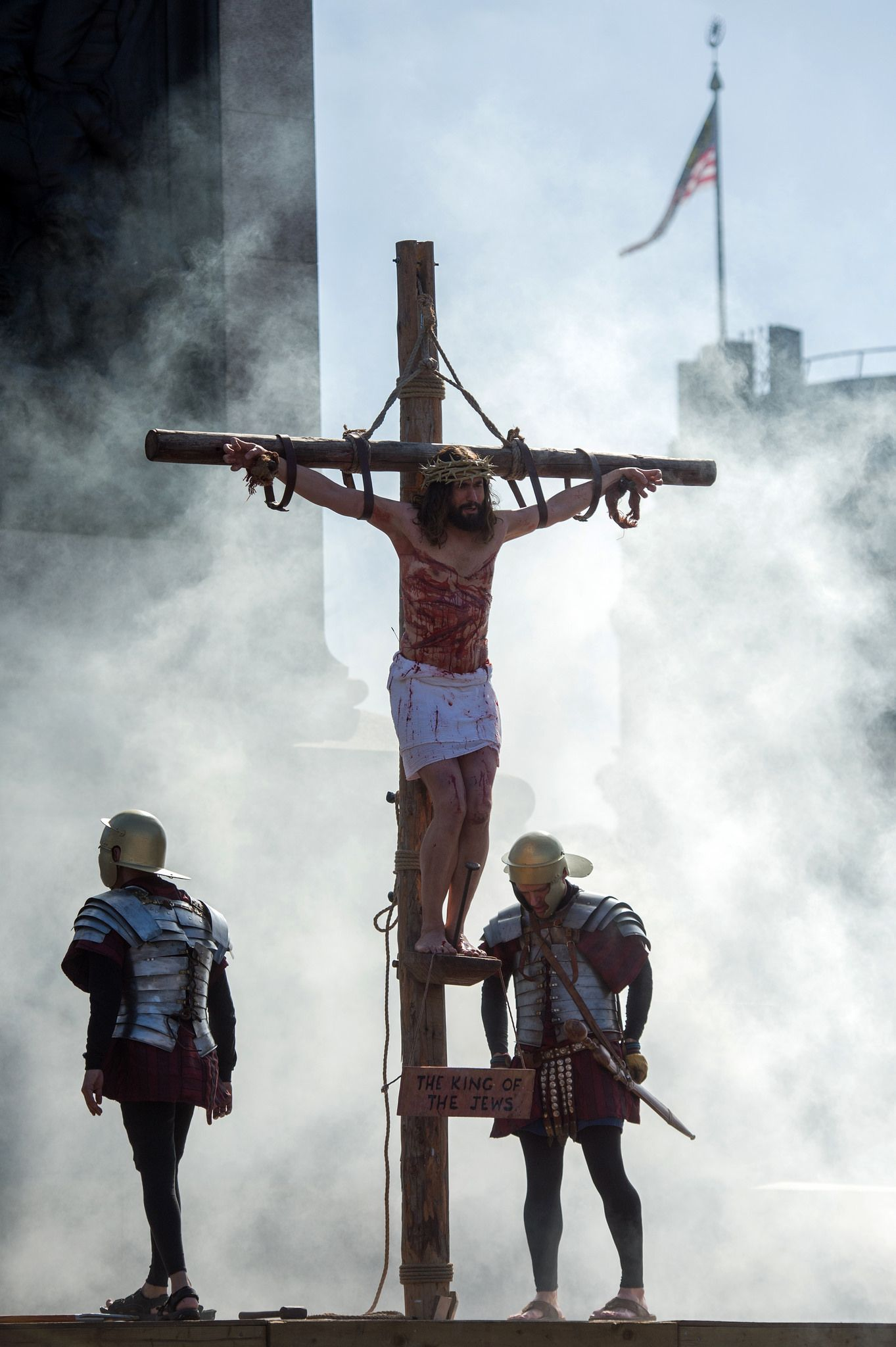 Passion of Jesus Statue News Report - www.PassionofJesus