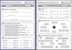 Maths CE1 : fiches d'exercices   Maths ce1, Ce1 et ...