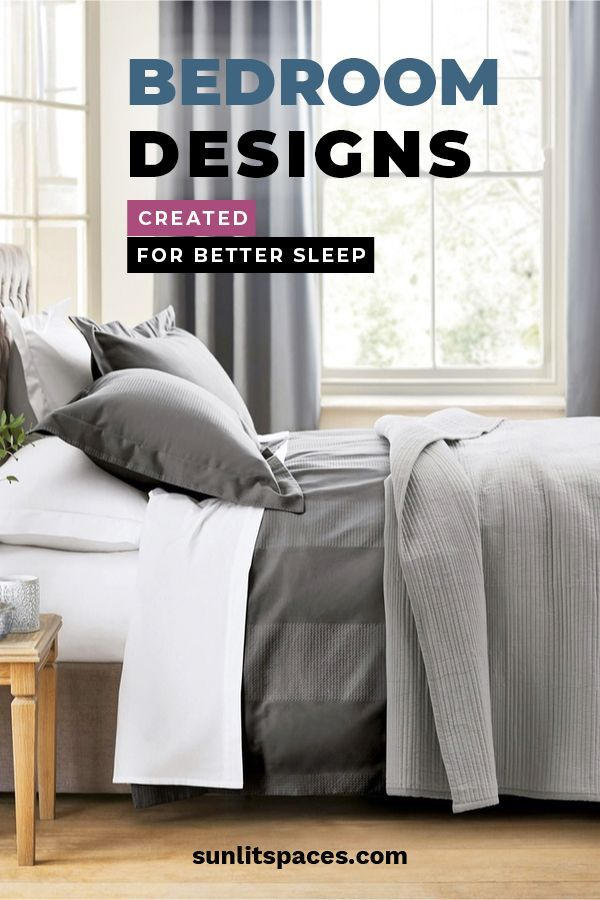 bedroom designs created for better sleep with images on better quality sleep with better bedroom decorations id=89125