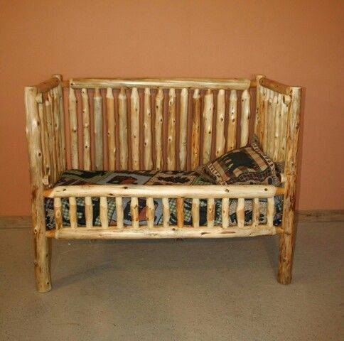 Crib that turns into a toddler then full