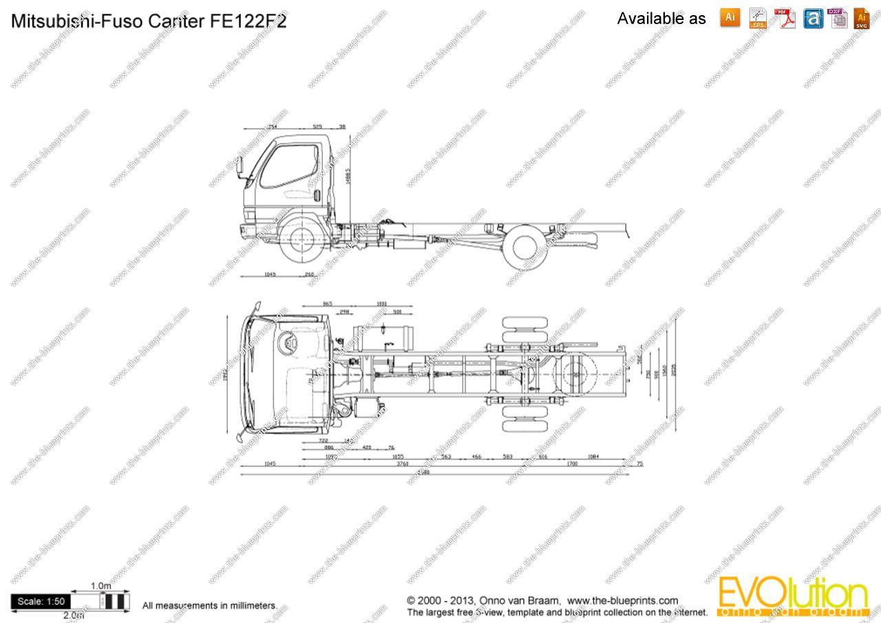 Mitsubishi Fuso Canter Fe122f2 Jpg 1280 905 Desain