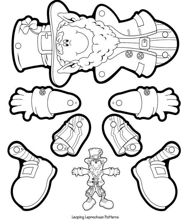 Leprechaun Craft   Speech Therapy Ideas   Pinterest   Dibujo escuela ...