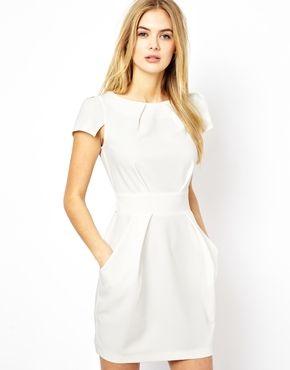 9c51b6a08 Imagen 1 de Vestido con lazo trasero y bolsillos de Closet