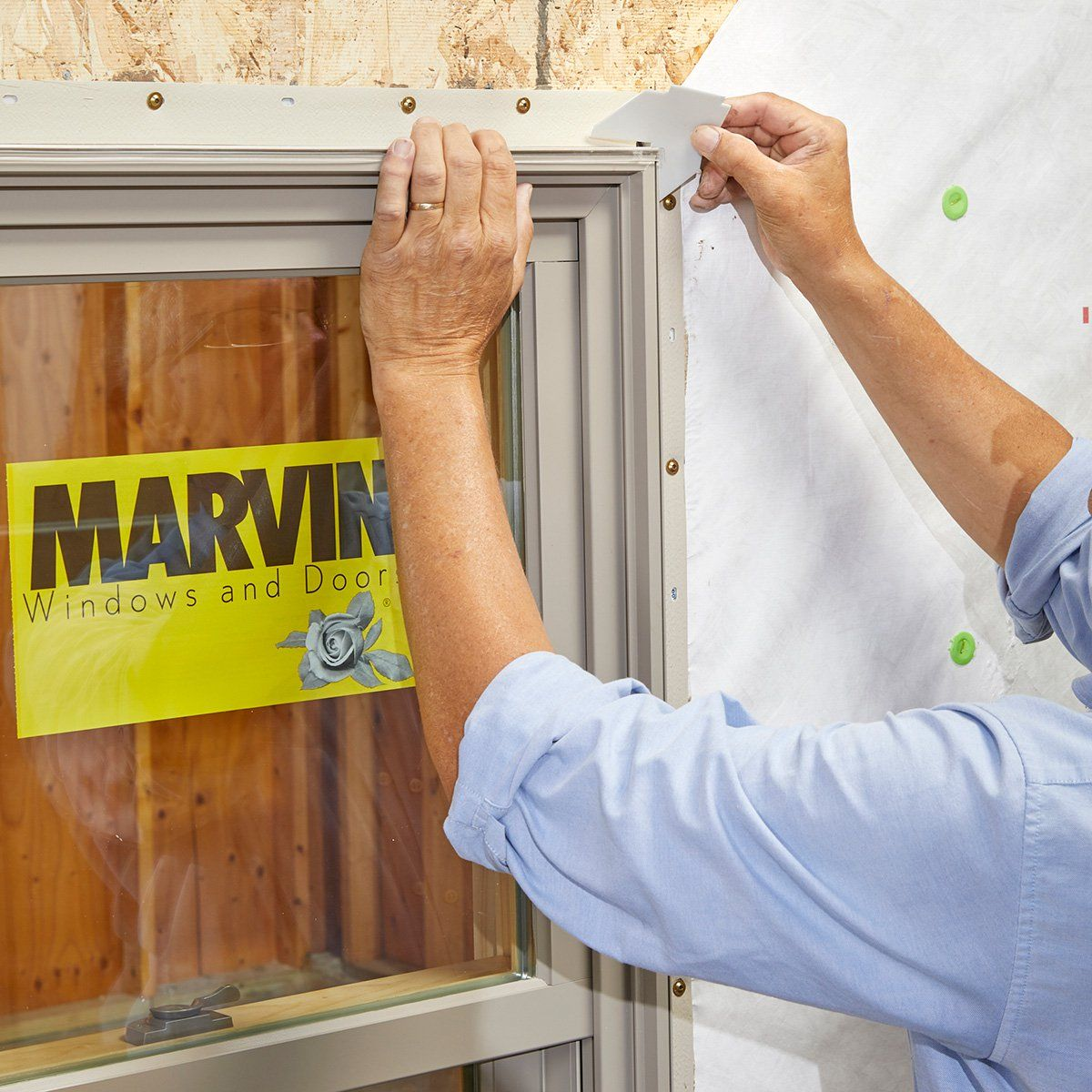 How To Install A Window Video Window Installation Marvin Windows Windows