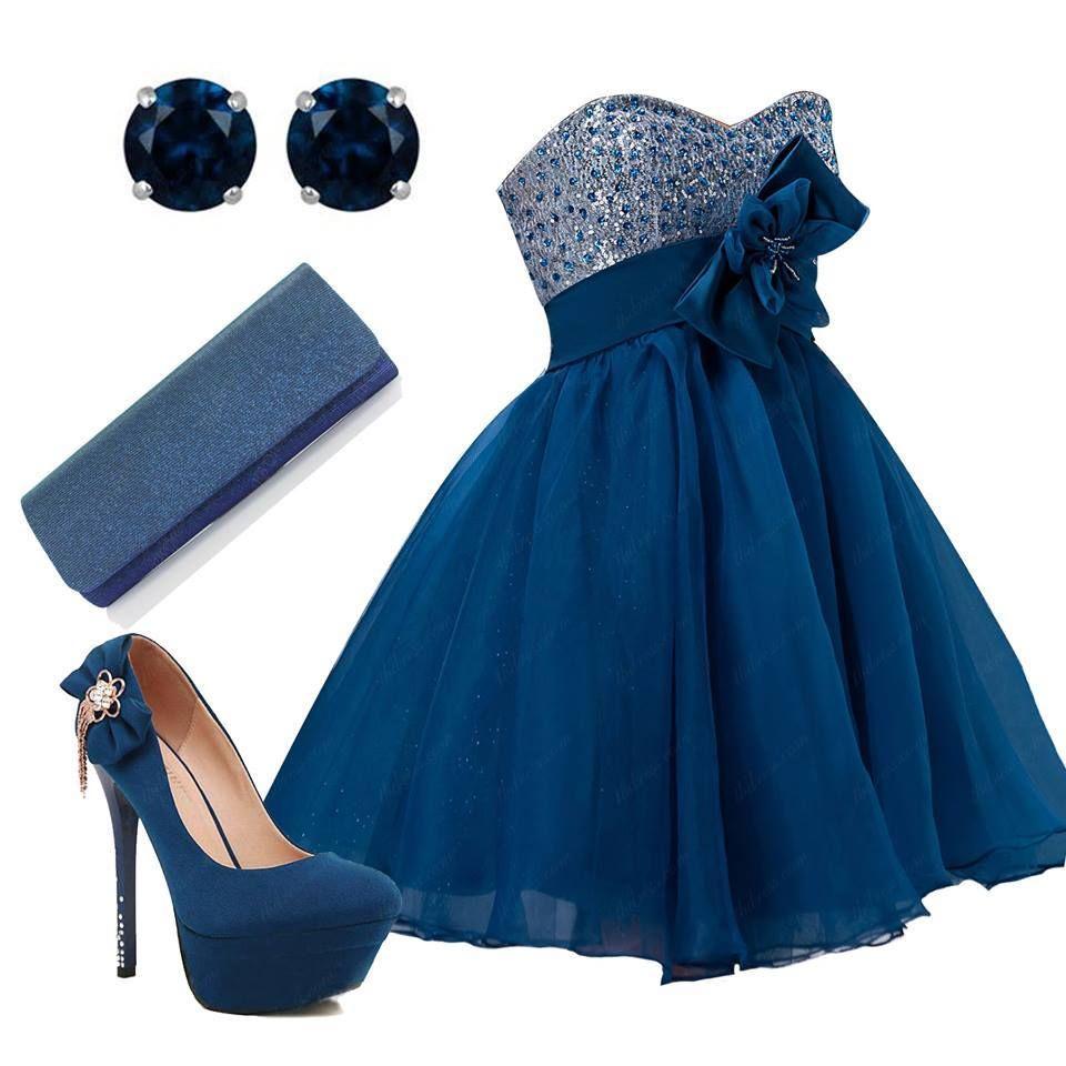 un vestido azul  la convinacion