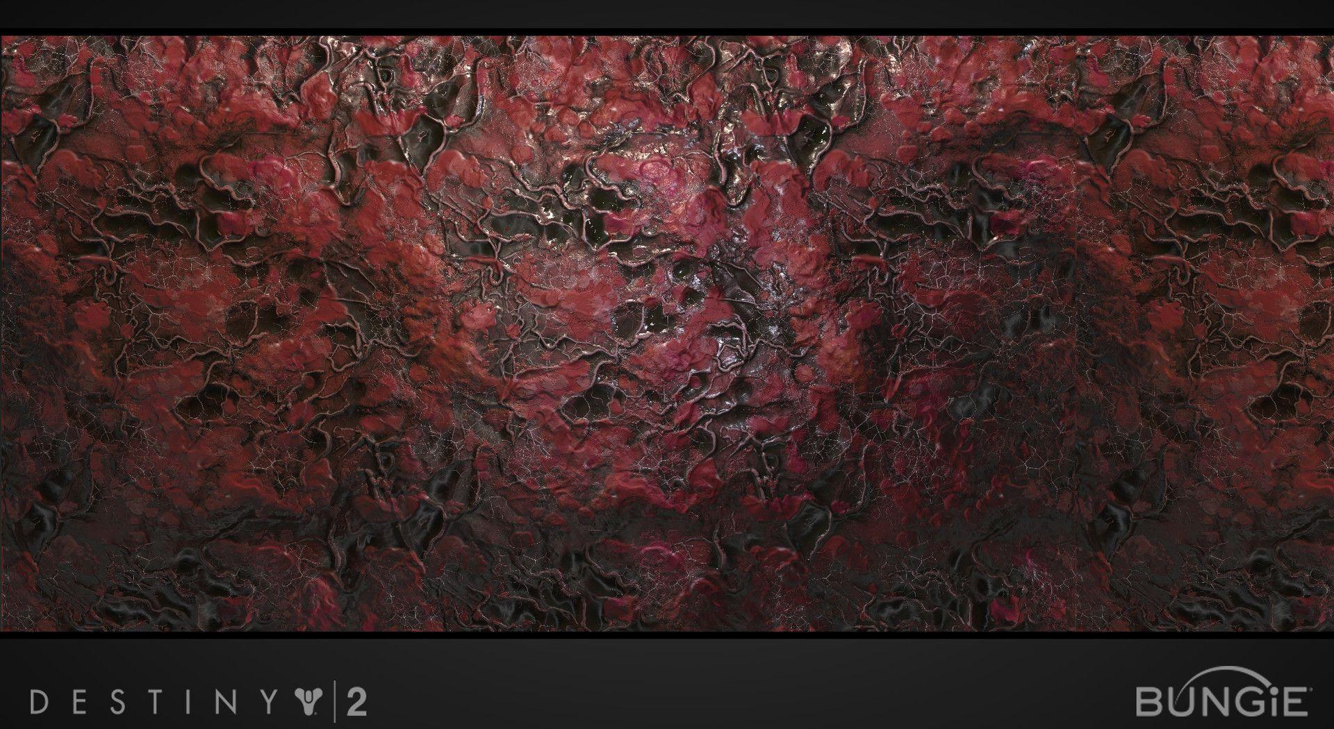 ArtStation - Destiny 2: Nessus Materials, Kevin Whitmeyer