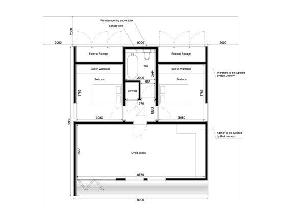 Steel Buildings With Living Quarters Floor Plans Looking