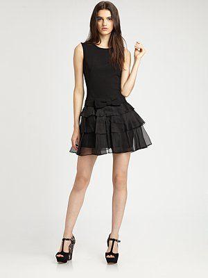 Rachel Zoe - Judi Ruffle Dress - Saks.com