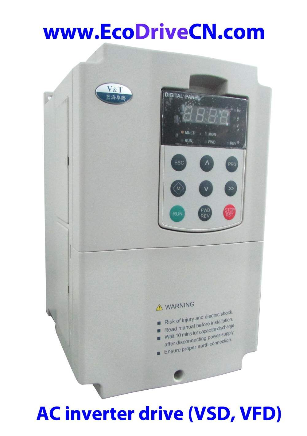 Vector Control Frequency Inverter Ac Drive Variable Speed Electronics Hobby