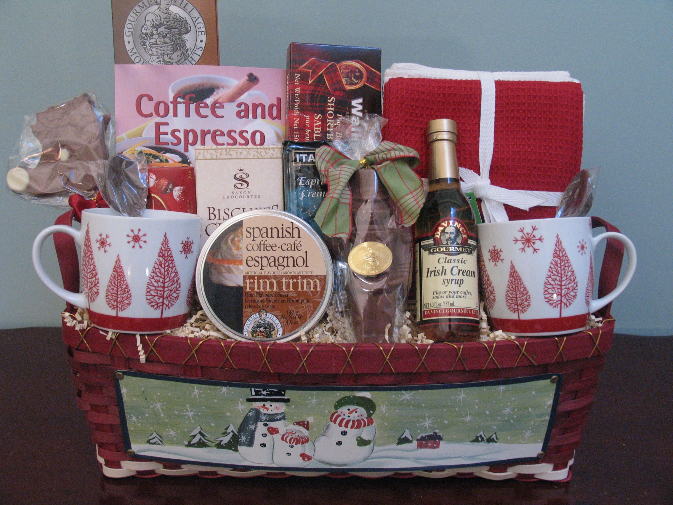 Christmas gift basket with images cheap christmas