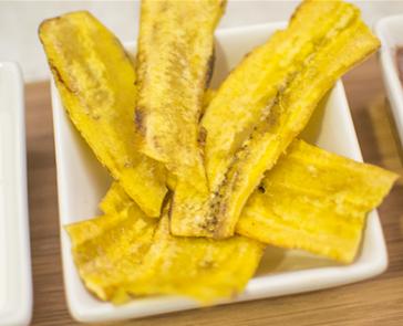 plantain chips fried in coconut oil #certifiedpaleo #paleofriendly #paleo