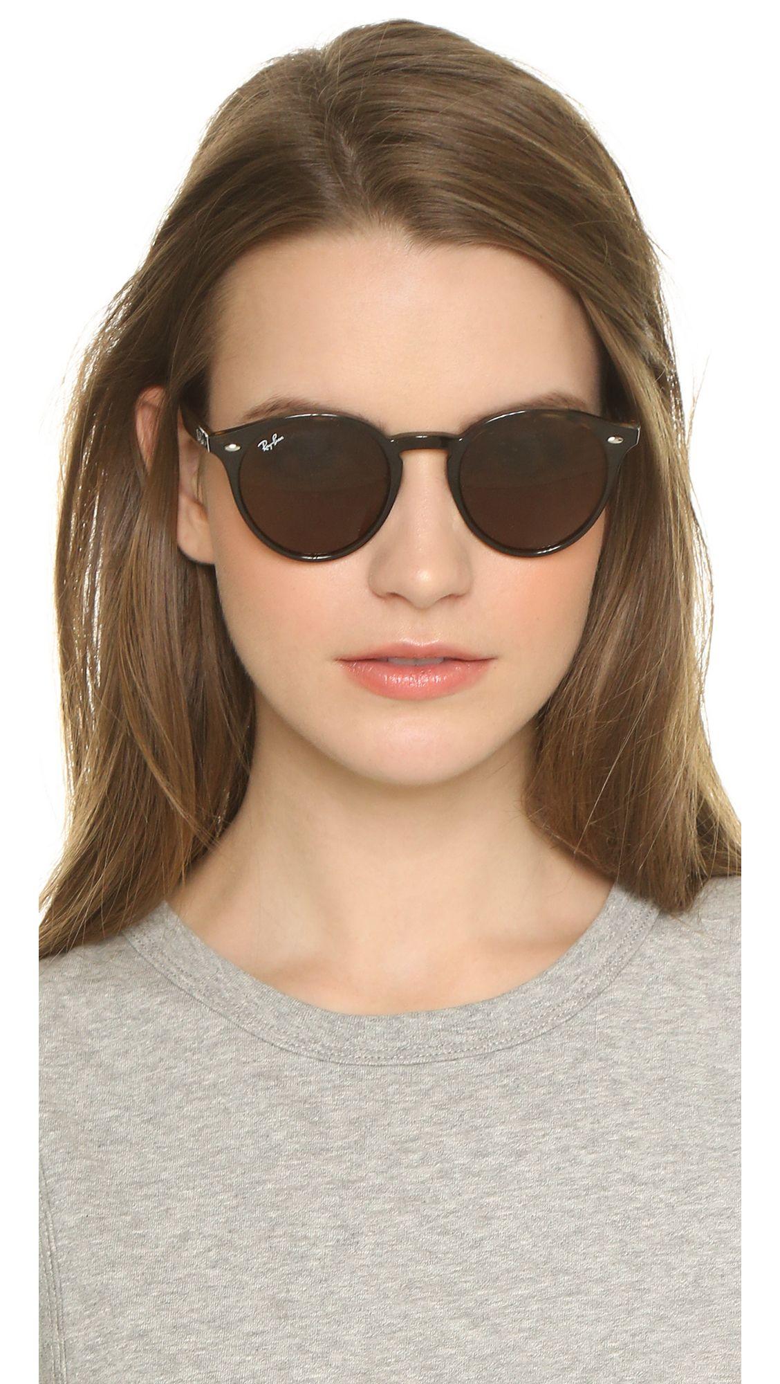 3297396ce0 Ray-Ban Highstreet Round Sunglasses