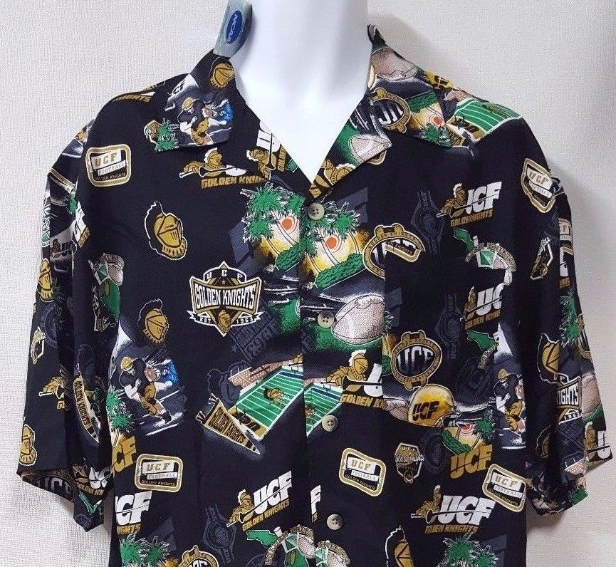 1e93a3ff5ad NCAA University of Central FL UCF Football Hawaiian Shirt Size Large  Knights  NCAA  UCFKnights