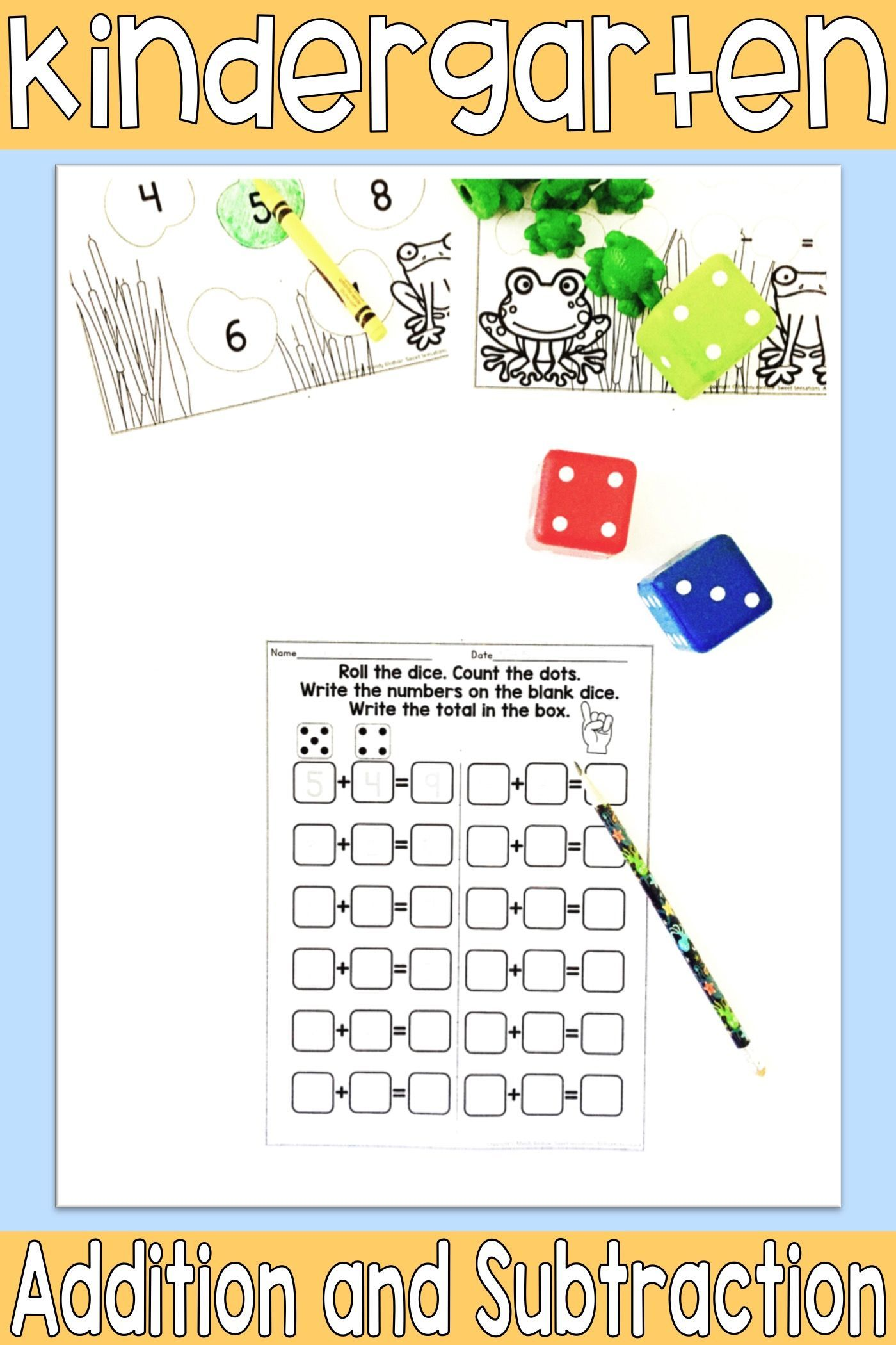 Kindergarten Addition And Subtraction In 2021 Addition And Subtraction Addition Kindergarten Math Center Activities Maths mastery addition and subtraction