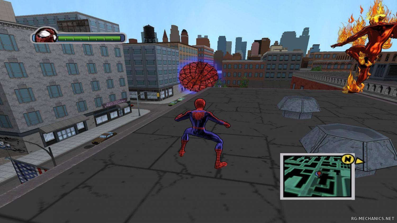 Человек паук игра на пк.