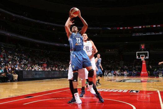 Maya Moore roars Lynx to season-opening win, recording 34 points and 9 rebounds to guide Minnesota to an 89-77 win over the Washington Mystics