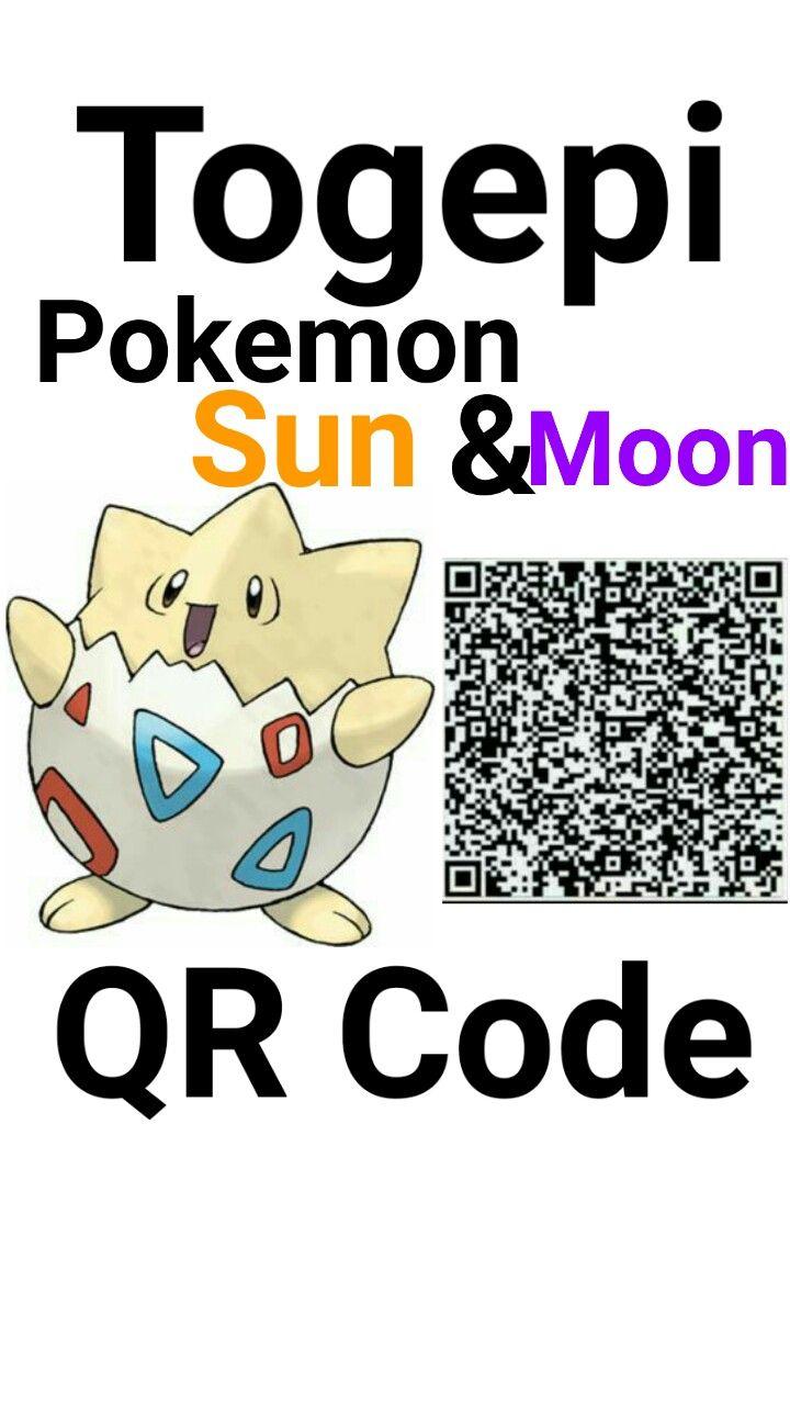 kaitlyn f s pokemon sun and moon qr codes togepi pokèmon