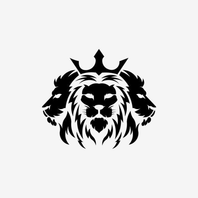 Tree Lion Head Logotype Of Vector Template Inspiration Logo Lion Head Animal Lion Artwork Lion Face Drawing Tribal Lion Tattoo