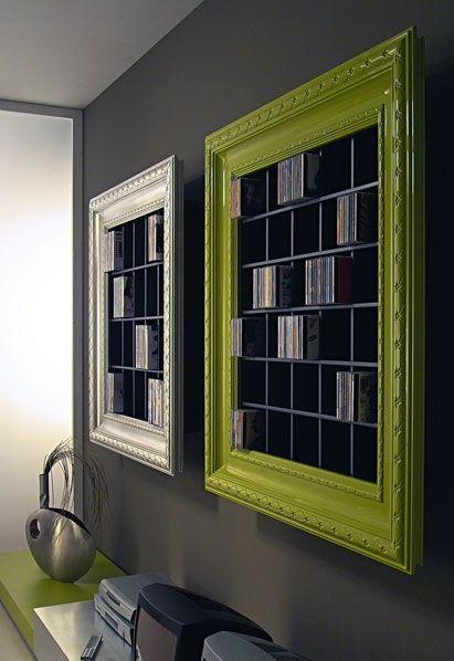 Frame Classic Home Dvd Storage Home Diy