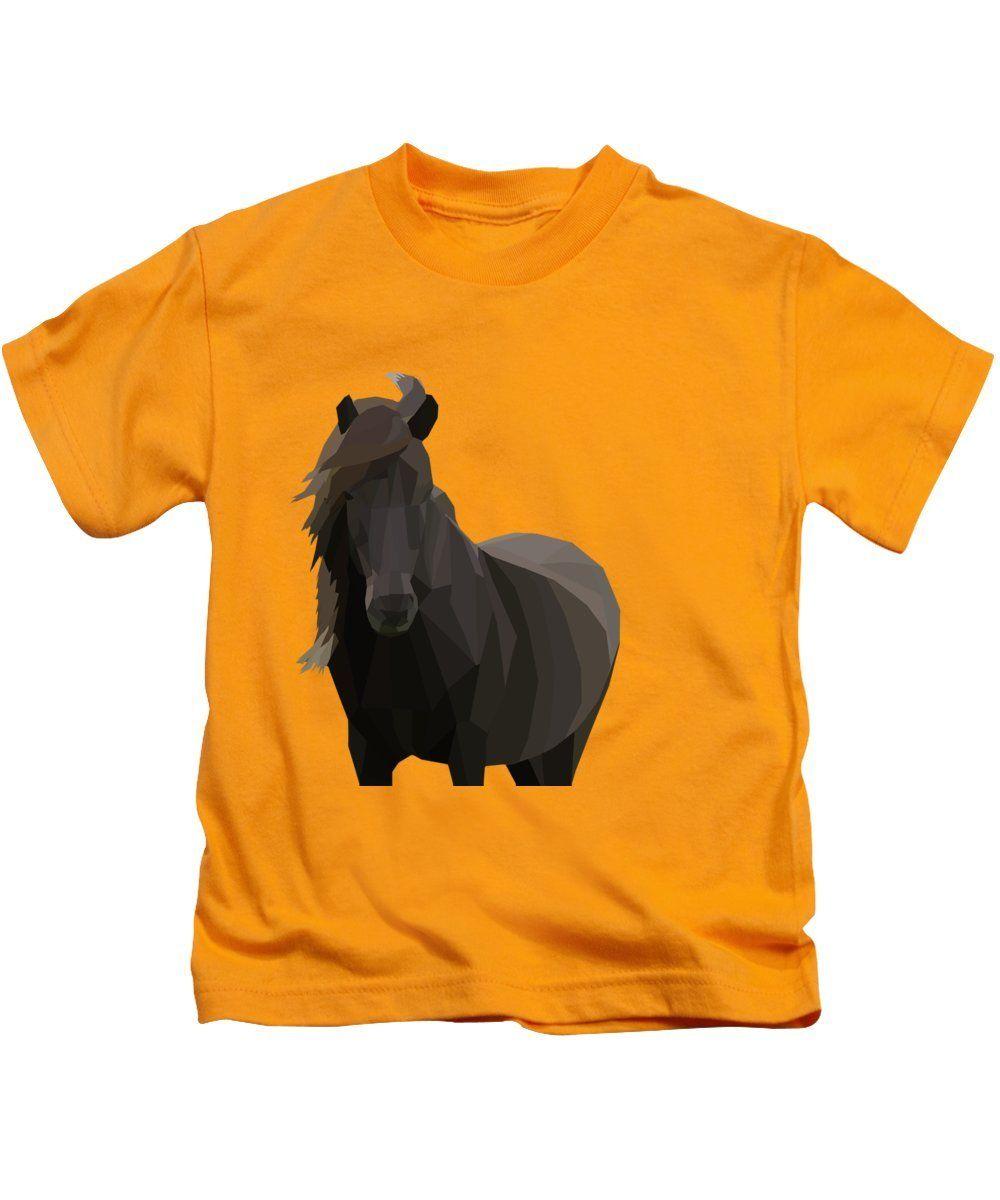 Icelandic Horse - Kids T-Shirt