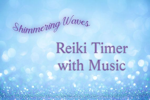 Reiki Timer 26 x 3 Minute Reiki Timer with by DewdropsfromHeaven