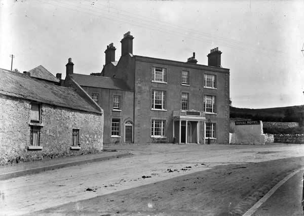 Royal Hotel Howth Co Dublin Published Created Between Ca