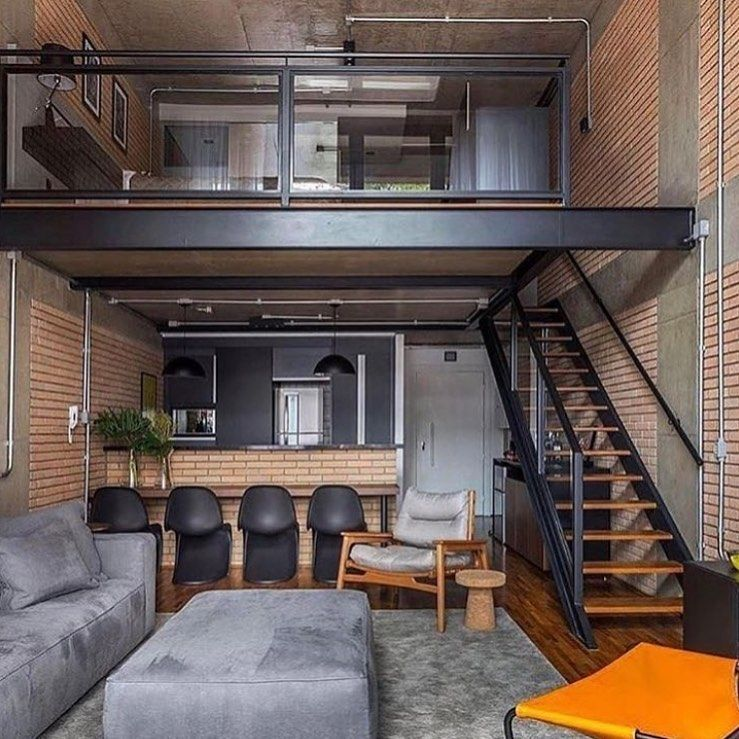 Decoracao Casa Loft Desain Rumah Rumah Studio Rumah