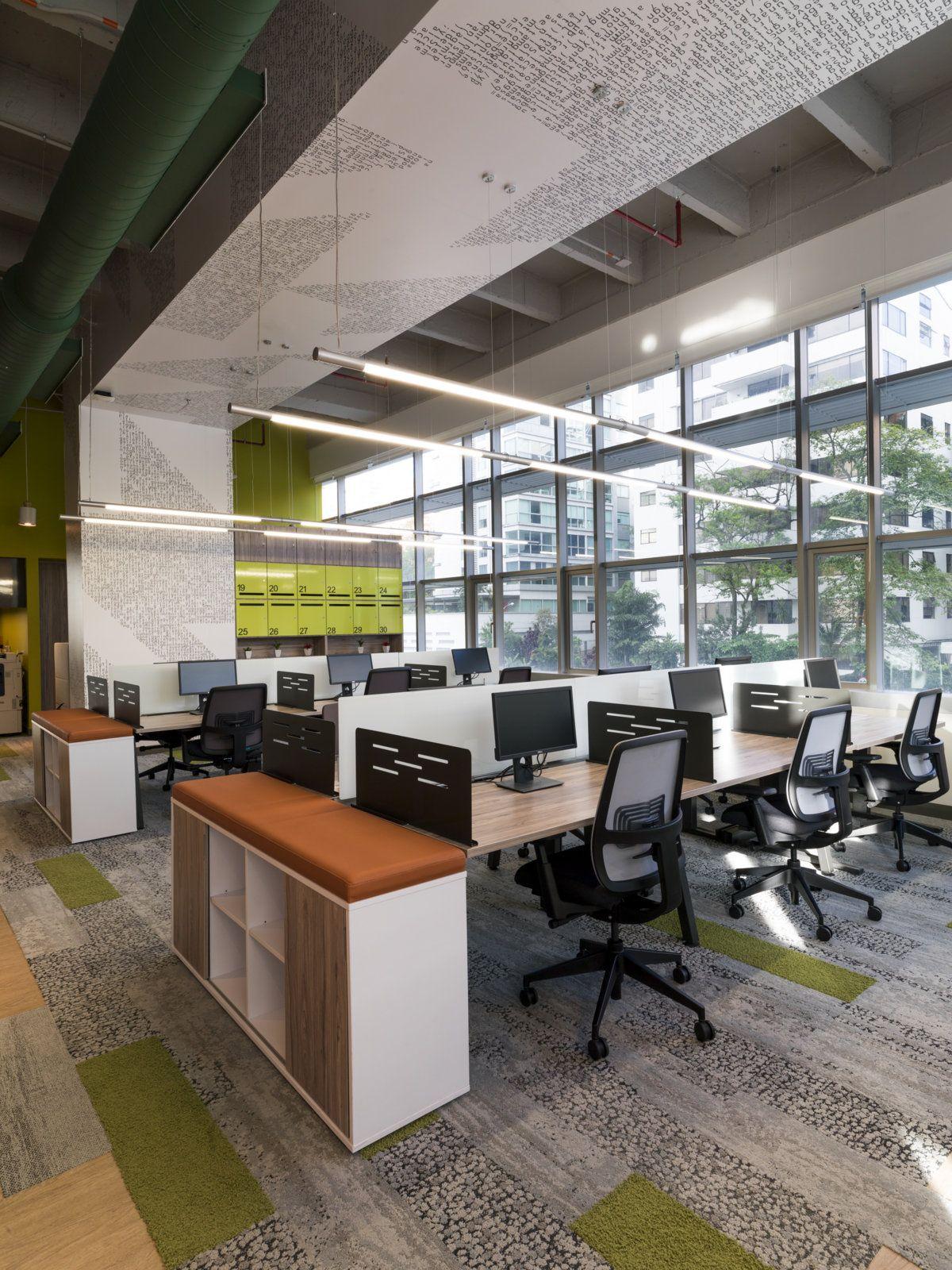 microsoft office design. Microsoft Offices - Medellín Office Snapshots Design