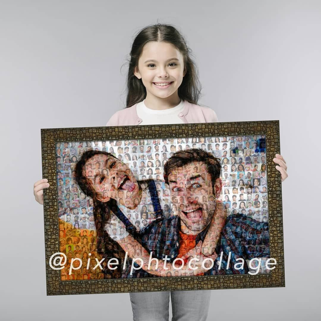 Our Pixel Photo Collage makes perfect gift for you