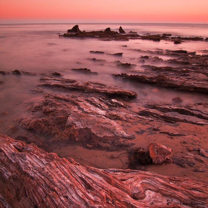 Pantone color for 2015, Marsala - Corona Del Mar, Newport California