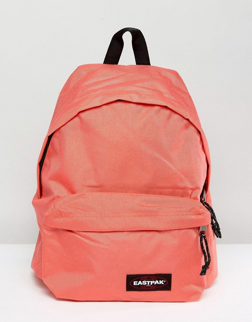 6ead2ef5ee4 Get this Eastpak's backpack now! Click for more details. Worldwide  shipping. Eastpak Padded Pak R in Coral - Pink: Backpack by Eastpak, Fabric  outer, ...